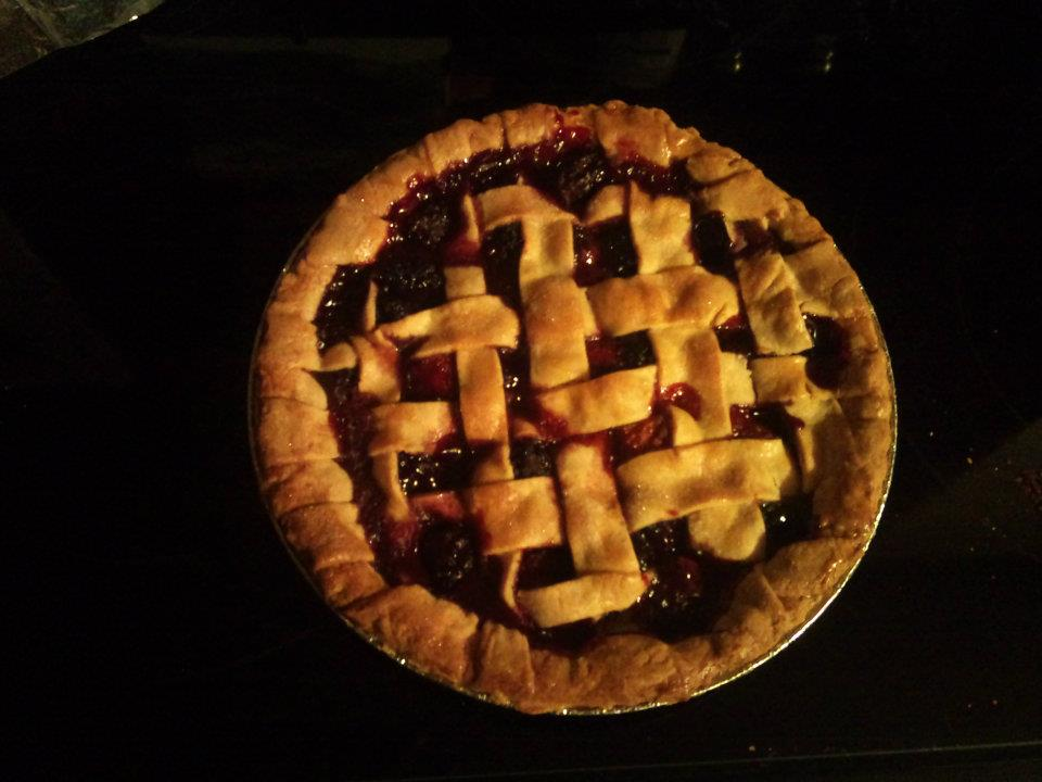 First Homemade Pie